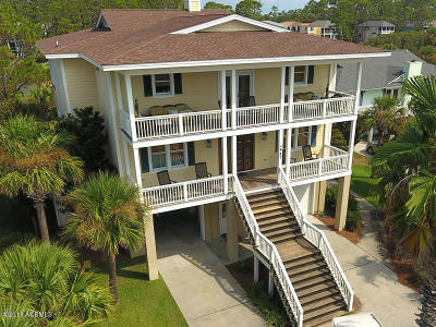 Beaufort County Single Family Home For Sale: 447 Tarpon Boulevard