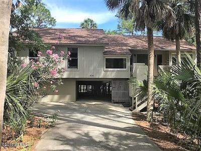 Fripp Island Single Family Home For Sale: 838 Marsh Dunes Road