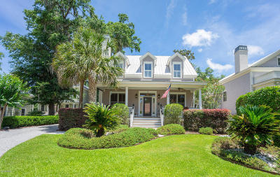 Beaufort, Beaufort Sc, Beaufot Single Family Home For Sale: 18 Sheridan Road
