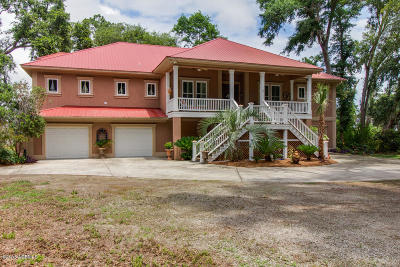 Beaufort County Single Family Home For Sale: 10 Comfort Point