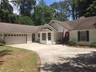 Beaufort County Single Family Home Under Contract - Take Backup: 24 Thomas Sumter