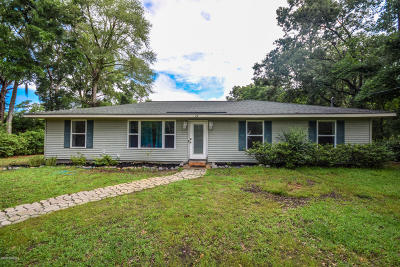 Beaufort, Beaufort Sc, Beaufot Single Family Home For Sale: 28 Mystic Circle