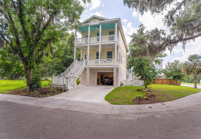 Beaufort, Beaufort Sc, Beaufot Single Family Home For Sale: 138 Palmetto Breeze Circle