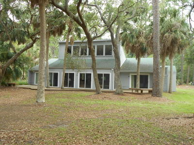 Beaufort County Single Family Home For Sale: 665 Dolphin Road