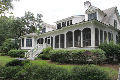 Beaufort County Single Family Home For Sale: 380 Distant Island Drive