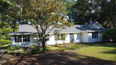Beaufort SC Single Family Home For Sale: $307,000