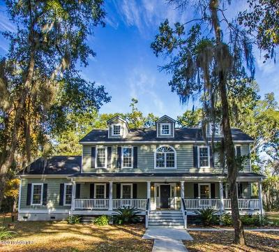 Beaufort, Beaufort Sc, Beaufot Single Family Home For Sale: 7 Najas Drive