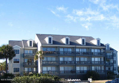 Fripp Island Condo/Townhouse For Sale: 732 N Hampton Court