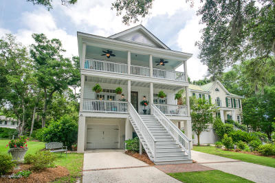 Hilton Head Island Single Family Home For Sale: 21 Mossy Oaks Lane