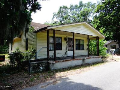 Port Royal Single Family Home For Sale: 6 Bell Drive