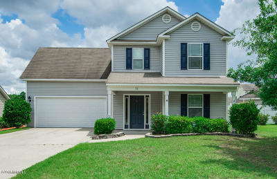 Bluffton Single Family Home For Sale: 24 Heartstone Circle