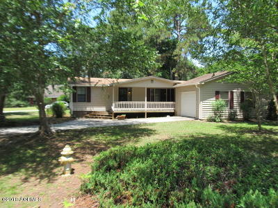 Beaufort Mobile Home For Sale: 88 Possum Hill Road