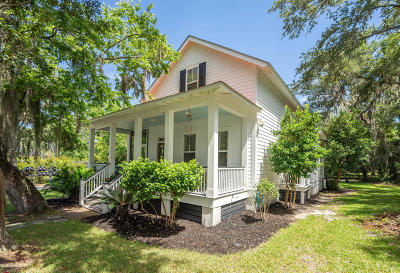 Beaufort, Beaufort Sc, Beaufot Single Family Home For Sale: 123 Willow Point Road