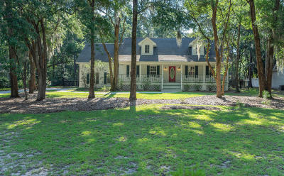Beaufort County Single Family Home Under Contract - Take Backup: 46 Walling Grove Road
