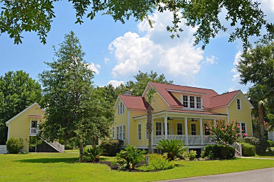 Beaufort, Beaufort Sc, Beaufot Single Family Home For Sale: 154 Coosaw Club Drive