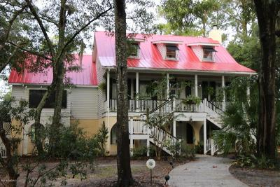 Beaufort, Beaufort Sc, Beaufot Single Family Home For Sale: 39 Tuscarora Avenue