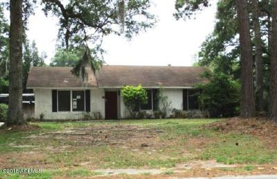 Beaufort County Single Family Home For Sale: 3001 Dogwood Street