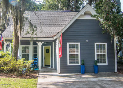 Port Royal Single Family Home For Sale: 9 Shipwright Court