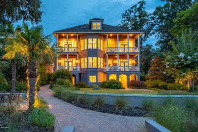 Beaufort Single Family Home For Sale: 22 Wrights Point Circle
