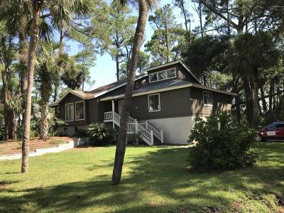 Fripp Island Single Family Home For Sale: 821 Bonito Drive