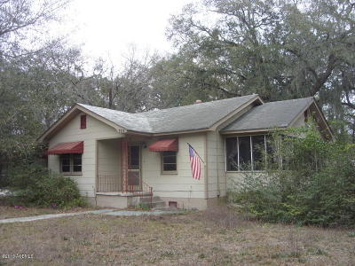 Beaufort, Beaufort Sc, Beaufot Single Family Home For Sale: 324 Sams Point Road