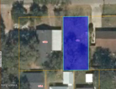 Port Royal, Port Ryal, Pt. Royal Residential Lots & Land For Sale: 813 16th Street