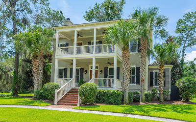Beaufort, Beaufort Sc, Beaufot Single Family Home For Sale: 64 Wrights Point Circle