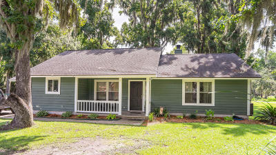 Beaufort, Beaufort Sc, Beaufot Single Family Home For Sale: 1205 Battery Creek Road