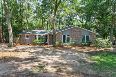 Port Royal, Port Ryal, Pt. Royal Single Family Home Under Contract - Take Backup: 11 Indigo Woods Court