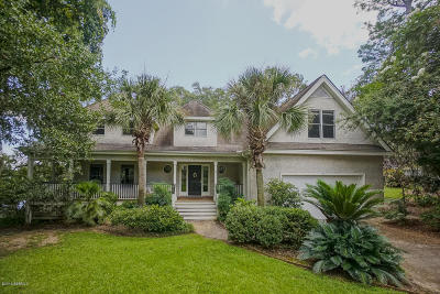 Beaufort County Single Family Home Under Contract - Take Backup: 8 Attaway Lane