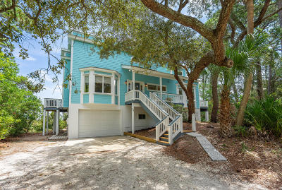 Beaufort County Single Family Home For Sale: 35 Ocean Marsh Lane