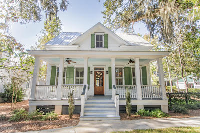 Beaufort, Beaufort Sc, Beaufot Single Family Home For Sale: 20 Pinckney Retreat