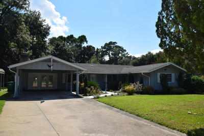 Beaufort, Beaufort Sc, Beaufot Single Family Home For Sale: 3006 Cherry Boulevard
