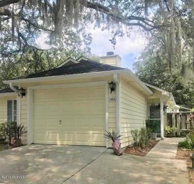 Beaufort County Single Family Home For Sale: 934 Oyster Cove Road