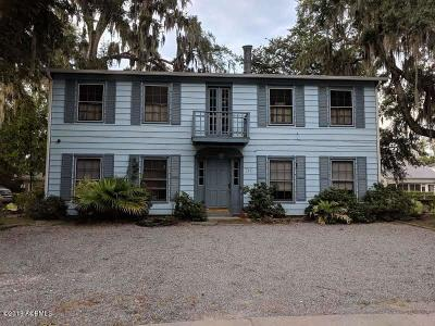 Beaufort, Beaufort Sc, Beaufot Single Family Home For Sale: 710 Prince Street