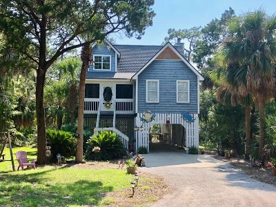 Beaufort County Single Family Home For Sale: 22 Ocean Marsh Lane