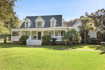 Beaufort, Beaufort Sc, Beaufot Single Family Home For Sale: 58 Garden Grove Court