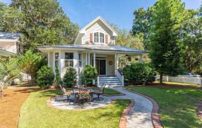 Beaufort, Beaufort Sc, Beaufot Single Family Home For Sale: 12 Sheridan Road