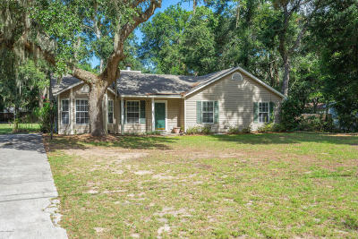 Beaufort, Beaufort Sc, Beaufot Single Family Home For Sale: 17 Sunrise Boulevard