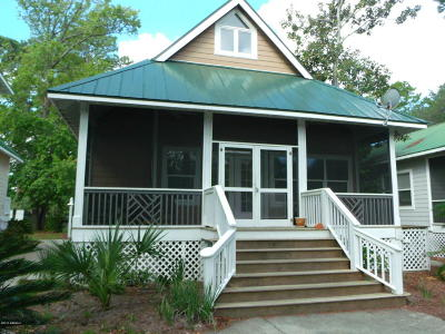 Fripp Island Single Family Home For Sale: 18 Davis Love Drive