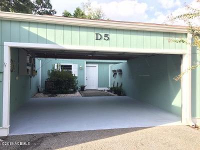 Beaufort Condo/Townhouse For Sale: 900 Brotherhood Road #D5
