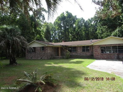 Baufort, Beaufort, Beaufot, Beufort Single Family Home For Sale: 167 Little Capers Road