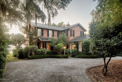 Beaufort Single Family Home For Sale: 875 Ribaut Road