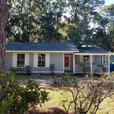 Beaufort SC Single Family Home For Sale: $175,000