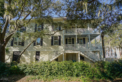Historic Dist/Old Pt., Historic District/Bay Single Family Home For Sale: 504 King Street