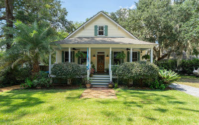 Beaufort County Single Family Home Under Contract - Take Backup: 424 Heyward Street