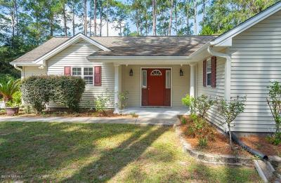 Beaufort County Single Family Home For Sale: 495 Sams Point Road