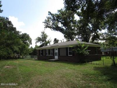 Beaufort County Single Family Home For Sale: 7 Ferry Drive