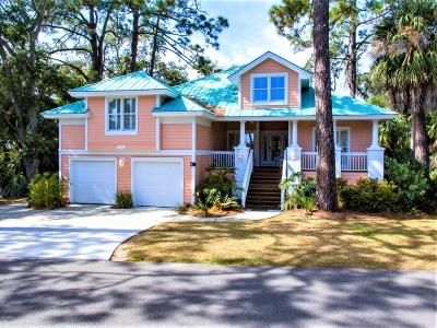 Fripp Island Single Family Home For Sale: 142 Ocean Creek Boulevard