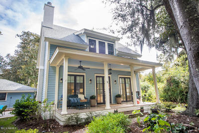 Beaufort Single Family Home For Sale: 9 Cotton Eye Court